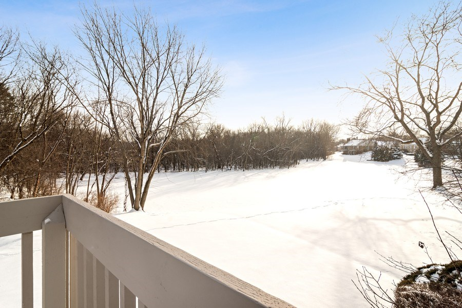 Real Estate Photography - 129 KNOCKDERRY Lane, Inverness, IL, 60067 - Pond View