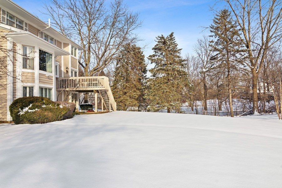 Real Estate Photography - 129 KNOCKDERRY Lane, Inverness, IL, 60067 - Back Yard