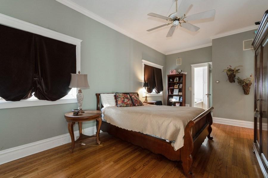 Real Estate Photography - 718 N. Main Street, Glen Ellyn, IL, 60137 - Master Bedroom