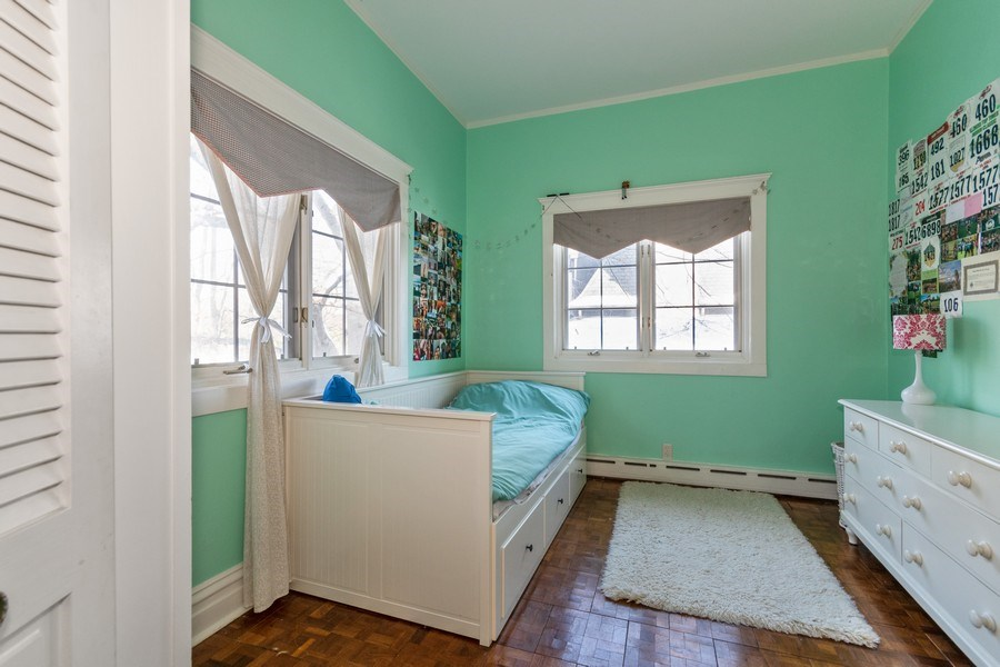 Real Estate Photography - 718 N. Main Street, Glen Ellyn, IL, 60137 - 2nd Bedroom