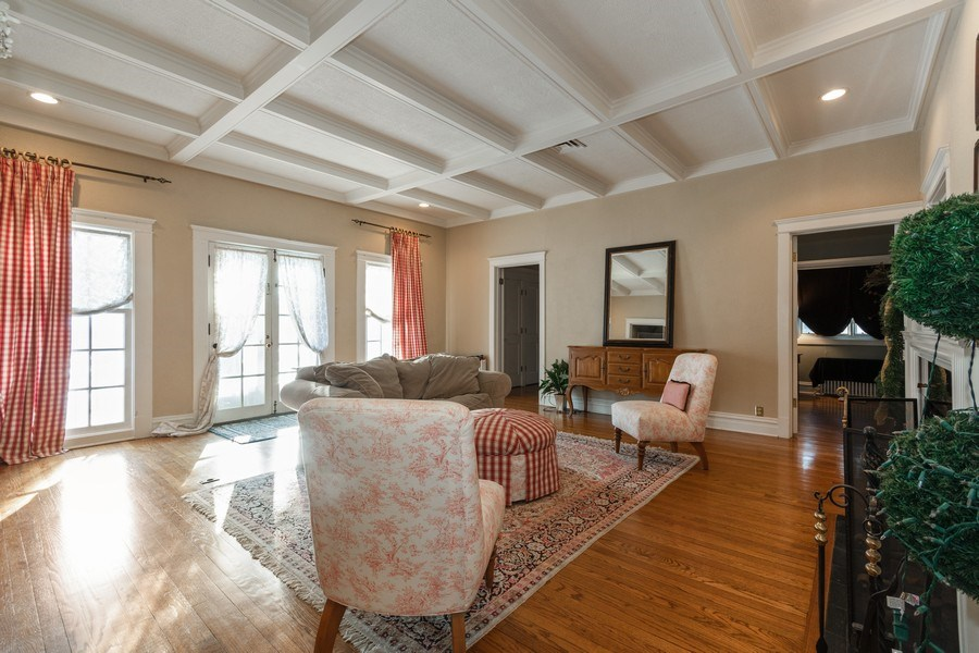 Real Estate Photography - 718 N. Main Street, Glen Ellyn, IL, 60137 - Living Room