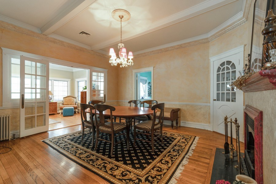 Real Estate Photography - 718 N. Main Street, Glen Ellyn, IL, 60137 - Dining Room