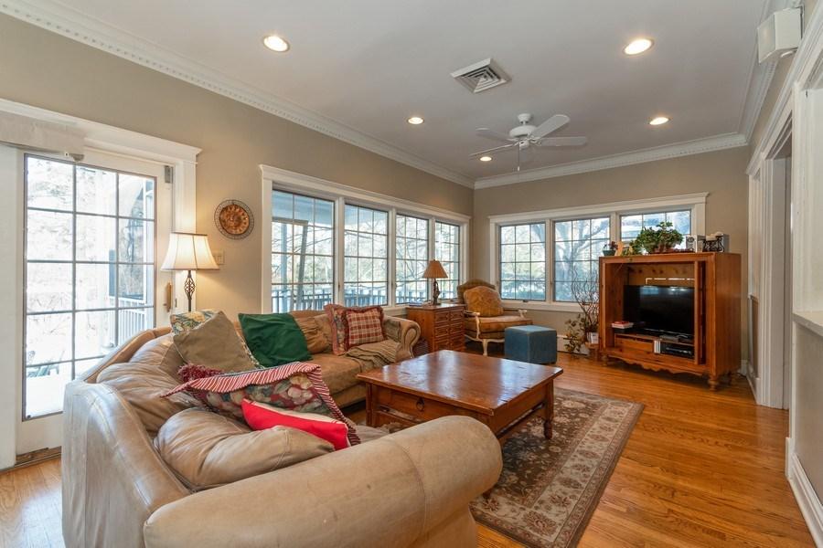 Real Estate Photography - 718 N. Main Street, Glen Ellyn, IL, 60137 - Family Room