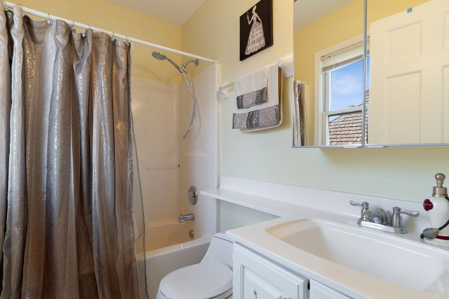Real Estate Photography - 2220 Palmer Circle, Naperville, IL, 60564 - 3rd Bathroom