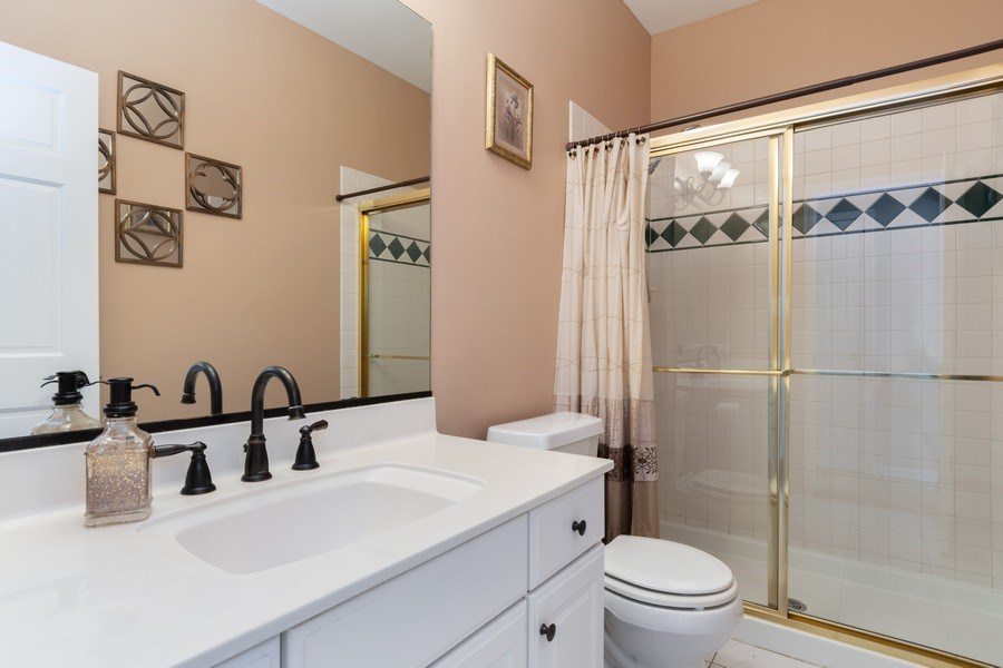 Real Estate Photography - 2220 Palmer Circle, Naperville, IL, 60564 - 4th Bathroom