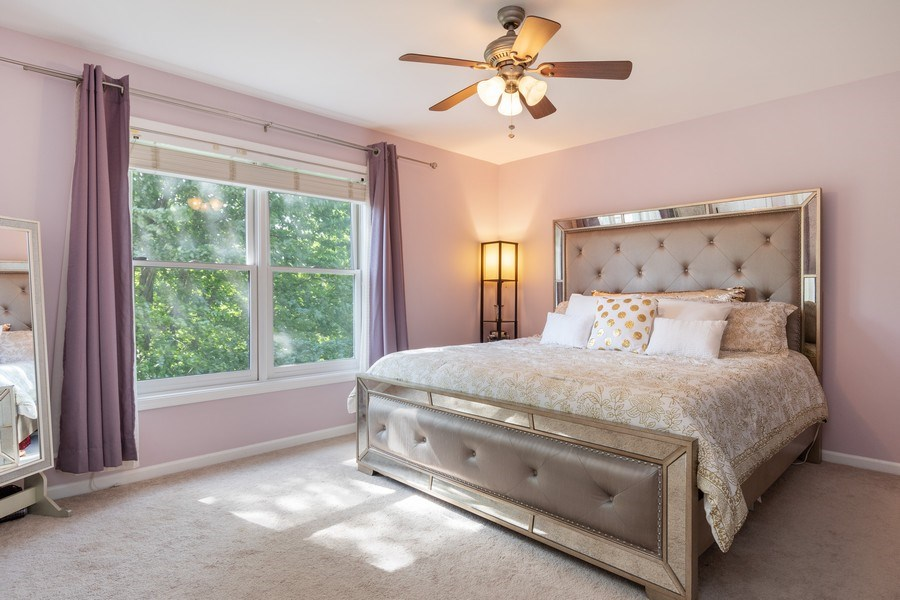 Real Estate Photography - 2220 Palmer Circle, Naperville, IL, 60564 - 2nd Bedroom