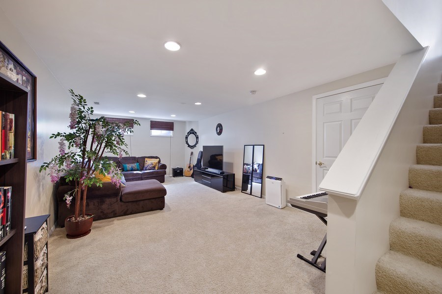Real Estate Photography - 2220 Palmer Circle, Naperville, IL, 60564 - Lower Level