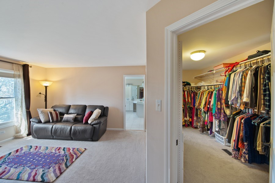 Real Estate Photography - 2220 Palmer Circle, Naperville, IL, 60564 - Master Bedroom
