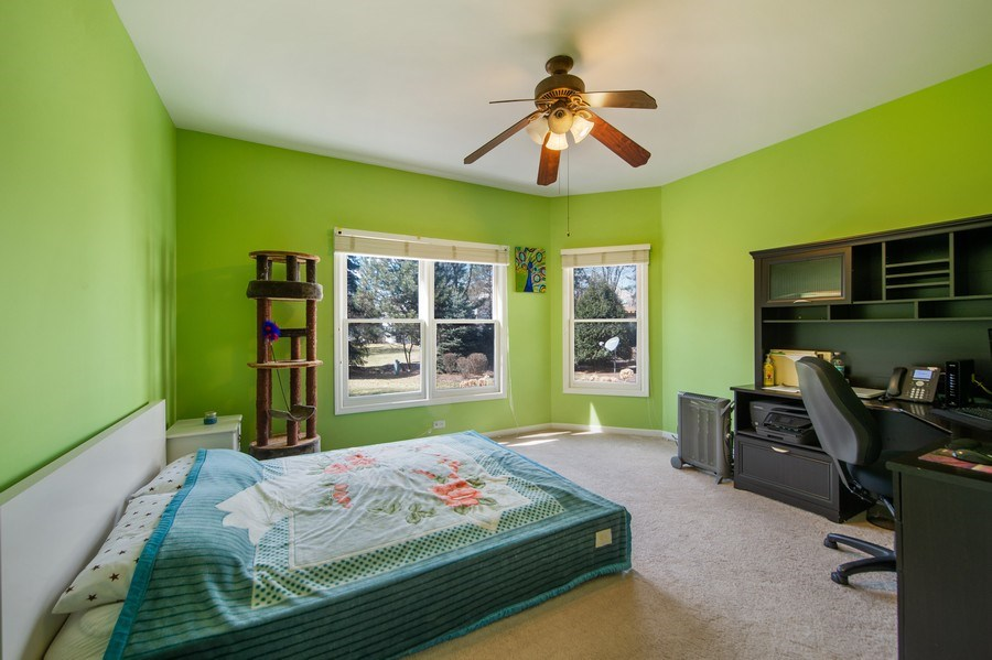 Real Estate Photography - 2220 Palmer Circle, Naperville, IL, 60564 - Bedroom
