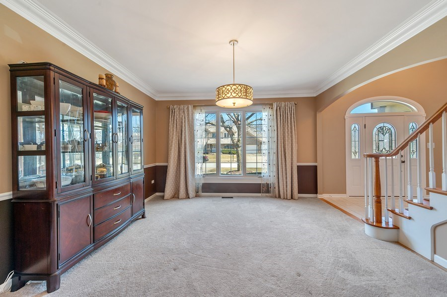 Real Estate Photography - 2220 Palmer Circle, Naperville, IL, 60564 - Dining Room