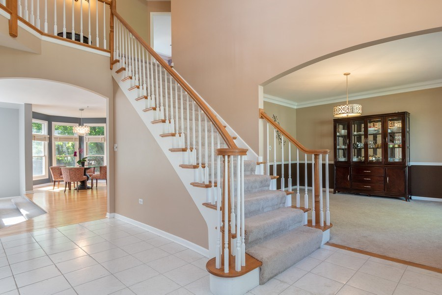 Real Estate Photography - 2220 Palmer Circle, Naperville, IL, 60564 - Foyer