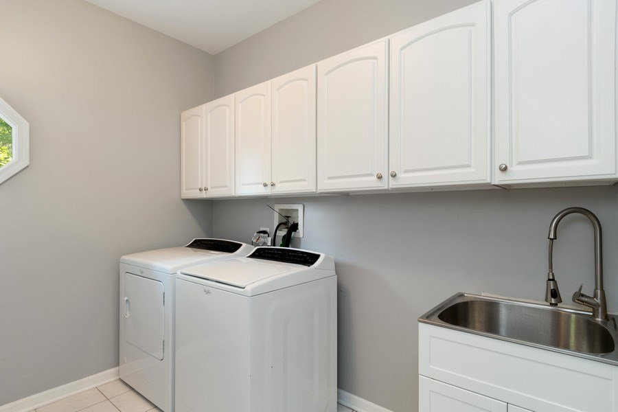 Real Estate Photography - 2220 Palmer Circle, Naperville, IL, 60564 - Laundry Room
