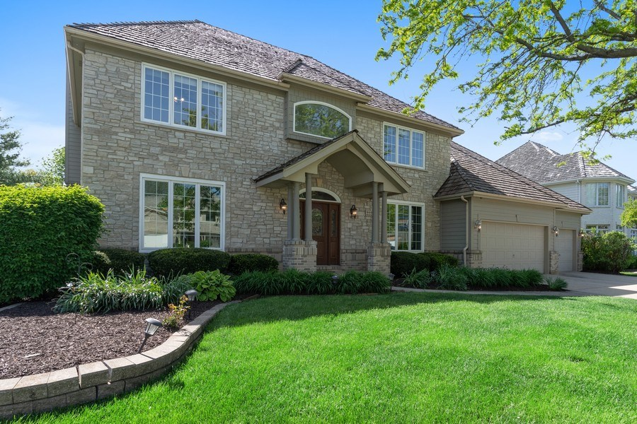 Real Estate Photography - 2220 Palmer Circle, Naperville, IL, 60564 - Front View