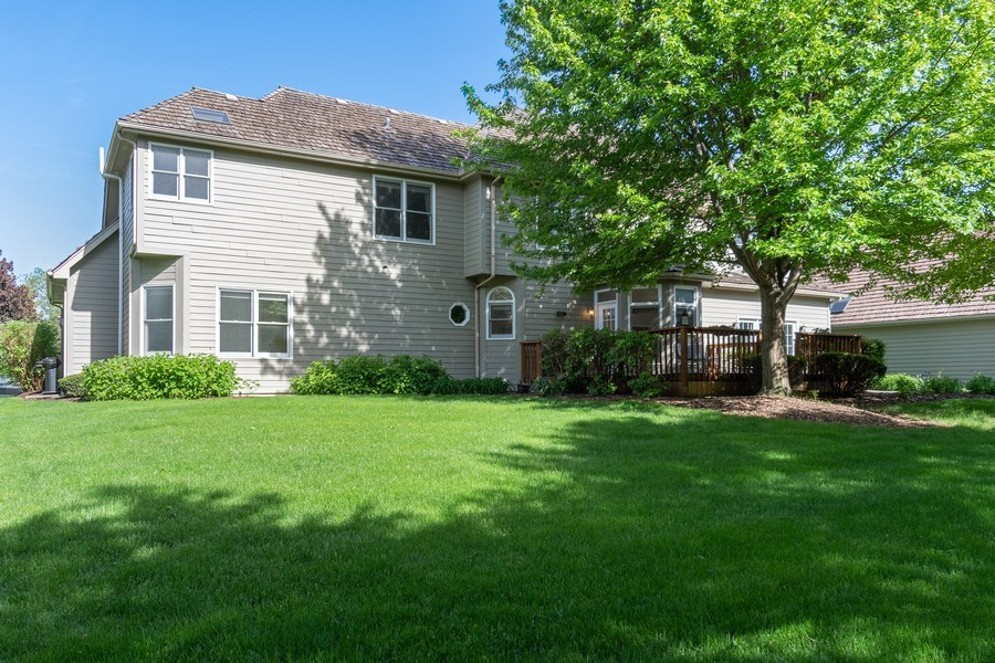 Real Estate Photography - 2220 Palmer Circle, Naperville, IL, 60564 - Rear View
