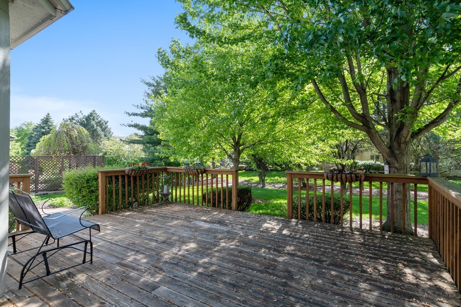Real Estate Photography - 2220 Palmer Circle, Naperville, IL, 60564 - Deck