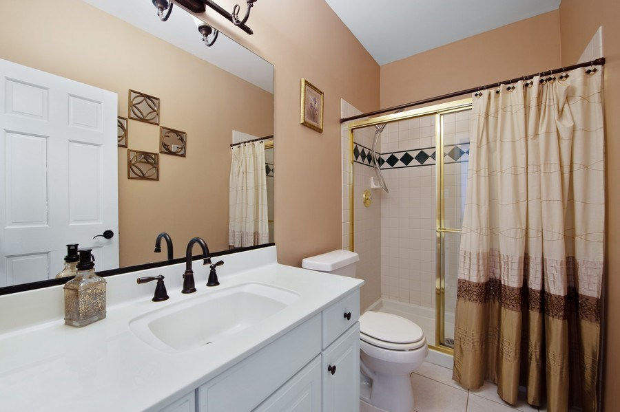 Real Estate Photography - 2220 Palmer Circle, Naperville, IL, 60564 - Bathroom