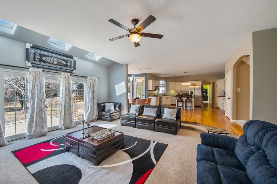 Real Estate Photography - 2220 Palmer Circle, Naperville, IL, 60564 - Family Room / Kitchen