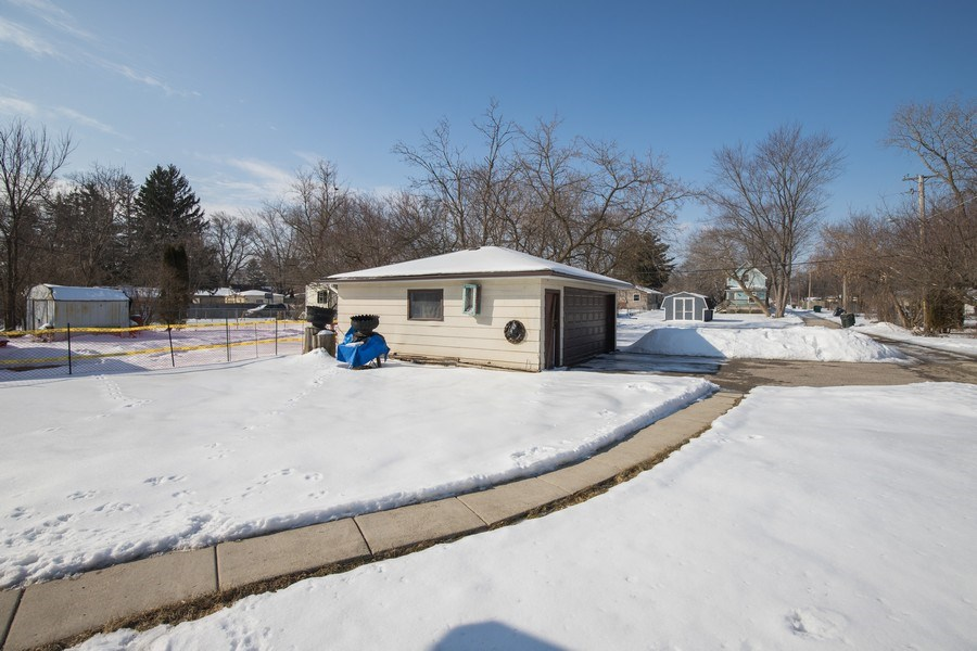 Real Estate Photography - 3214 Gabriel Ave., Zion, IL, 60048 - Back Yard