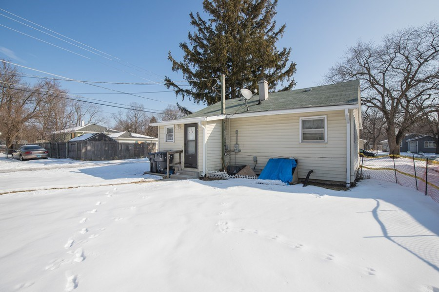 Real Estate Photography - 3214 Gabriel Ave., Zion, IL, 60048 - Rear View