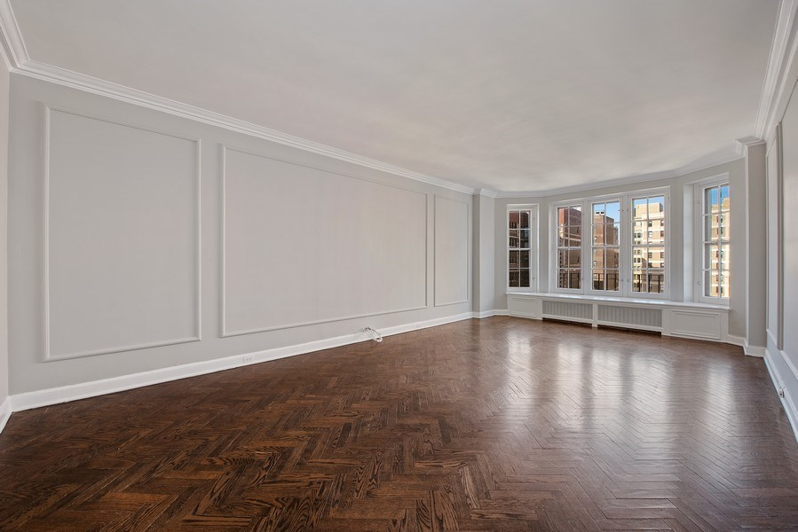Real Estate Photography - 421 W. Melrose Street, Unit 12C, Chicago, IL, 60657 - Living Room