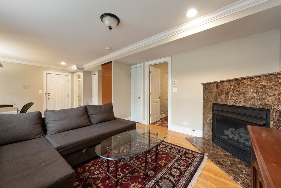 Real Estate Photography - 2133 N. Kedzie Boulevard, Unit G, Chicago, IL, 60647 - Living Room