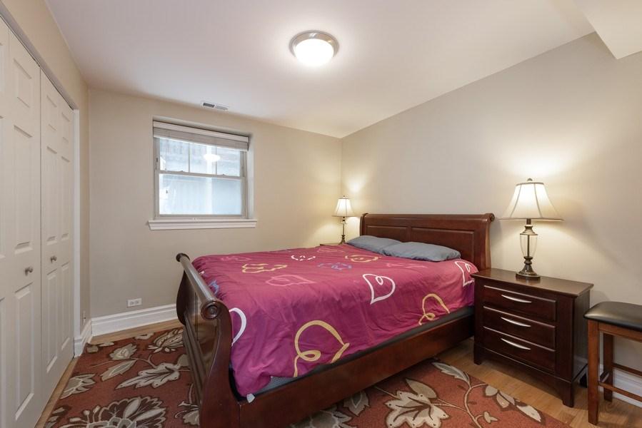 Real Estate Photography - 2133 N. Kedzie Boulevard, Unit G, Chicago, IL, 60647 - Bedroom
