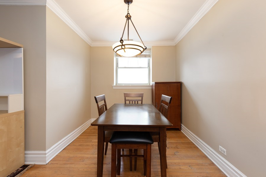Real Estate Photography - 2133 N. Kedzie Boulevard, Unit G, Chicago, IL, 60647 - Dining Room
