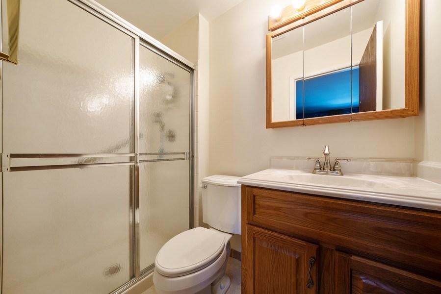 Real Estate Photography - 1052 Southbury Ln, B1, Wheeling, IL, 60090 - Master Bathroom