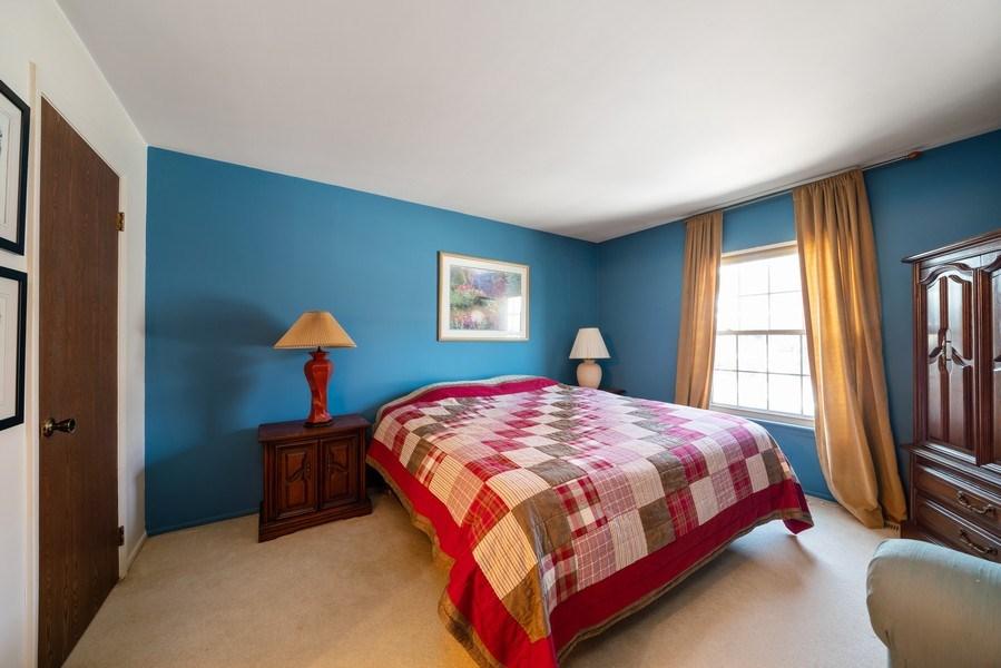 Real Estate Photography - 1052 Southbury Ln, B1, Wheeling, IL, 60090 - Master Bedroom