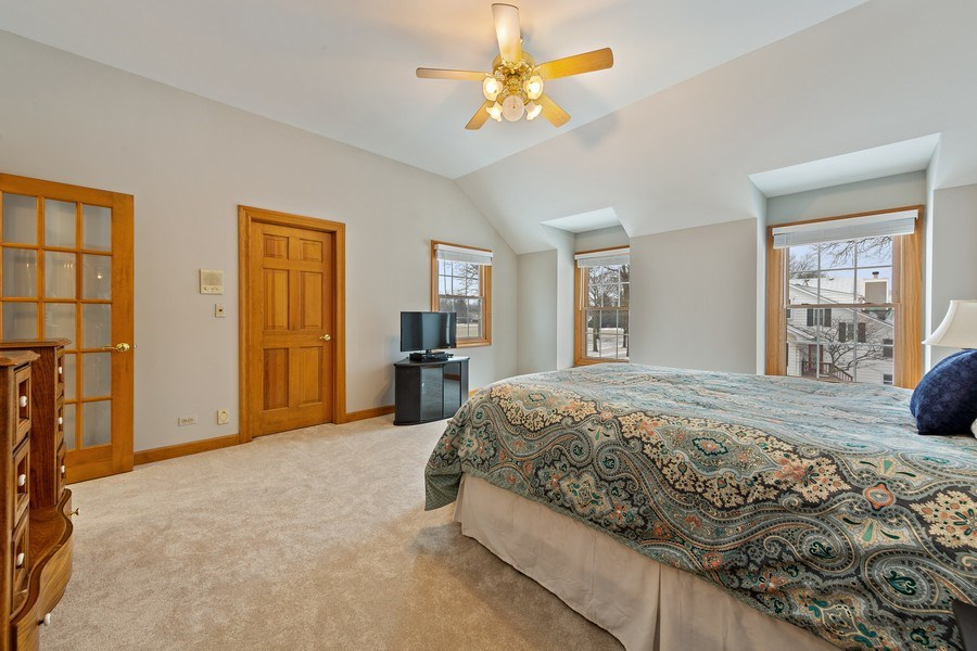 Real Estate Photography - 425 E. Oak Avenue, Wheaton, IL, 60187 - Master Bedroom
