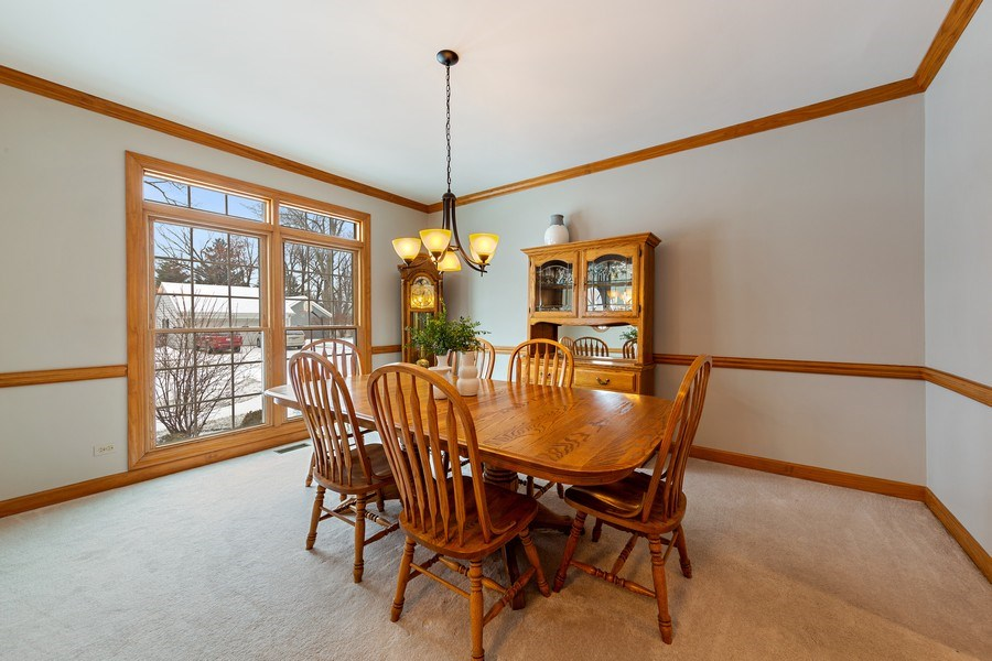 Real Estate Photography - 425 E. Oak Avenue, Wheaton, IL, 60187 - Dining Room