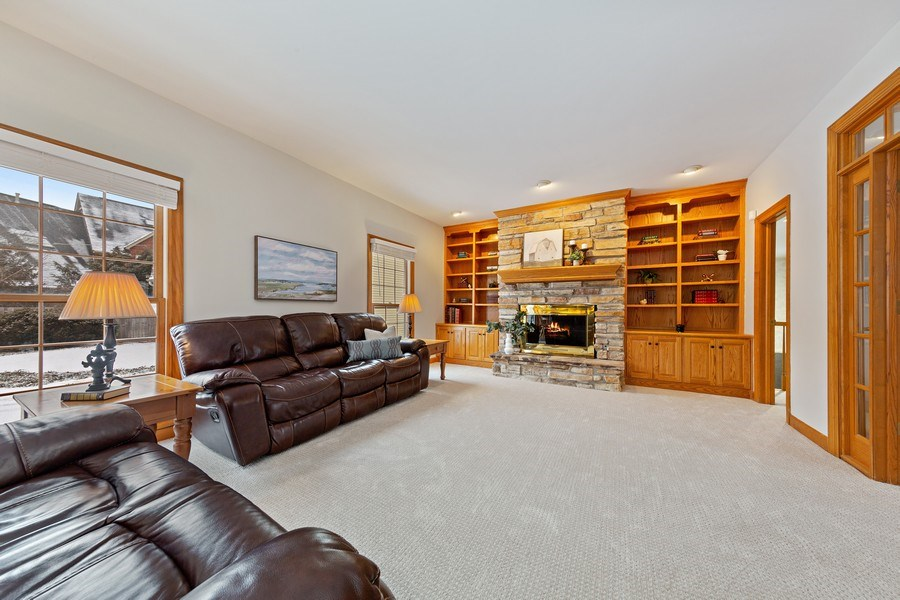 Real Estate Photography - 425 E. Oak Avenue, Wheaton, IL, 60187 - Family Room