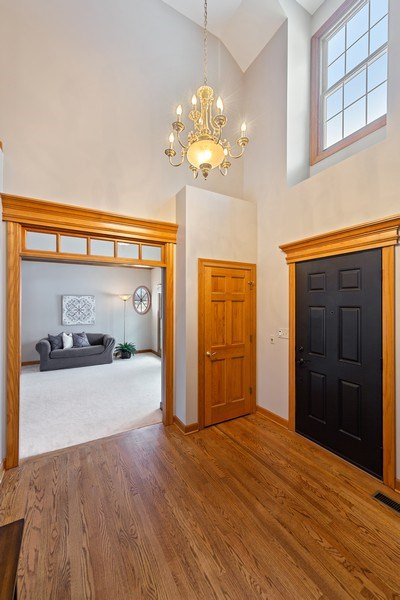 Real Estate Photography - 425 E. Oak Avenue, Wheaton, IL, 60187 - Foyer