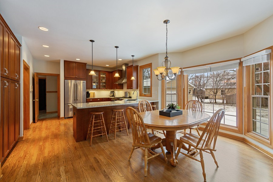 Real Estate Photography - 425 E. Oak Avenue, Wheaton, IL, 60187 - Kitchen Eating Area