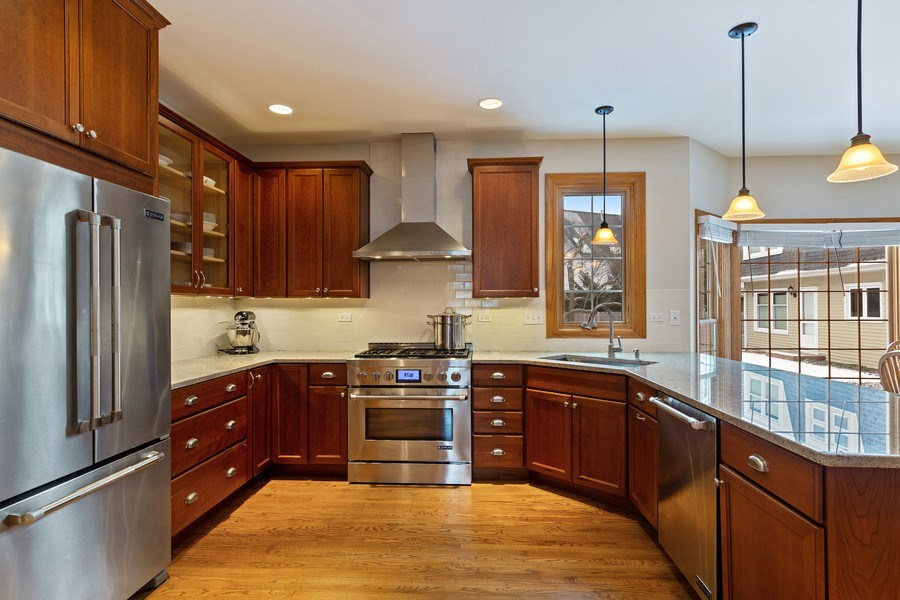 Real Estate Photography - 425 E. Oak Avenue, Wheaton, IL, 60187 - Kitchen