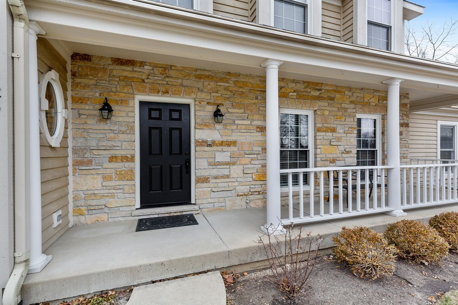Real Estate Photography - 425 E. Oak Avenue, Wheaton, IL, 60187 - Front Porch