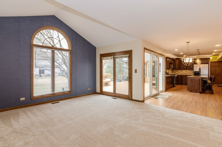 Real Estate Photography - 936 Pember Circle, West Dundee, IL, 60118 - Family Room