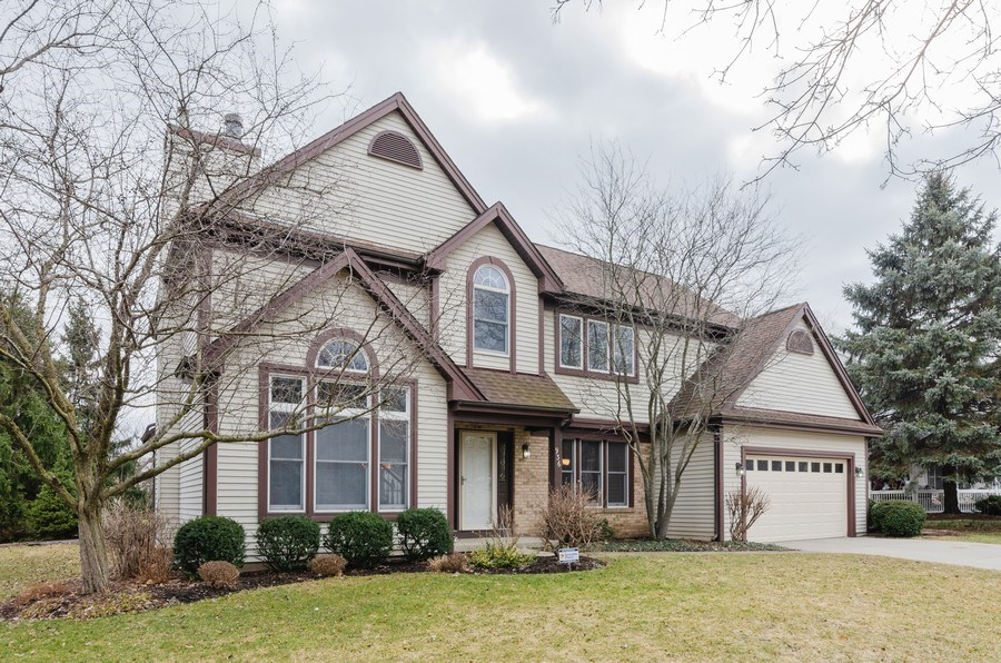 Real Estate Photography - 936 Pember Circle, West Dundee, IL, 60118 - Front View