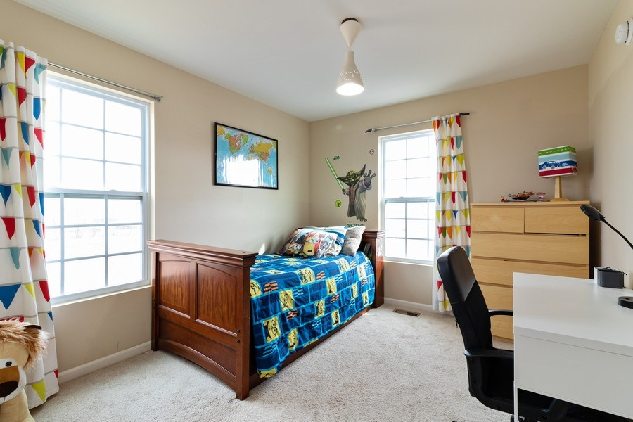 Real Estate Photography - 7500 SAVOY Lane, Unit A, Bridgeview, IL, 60455 - Bedroom