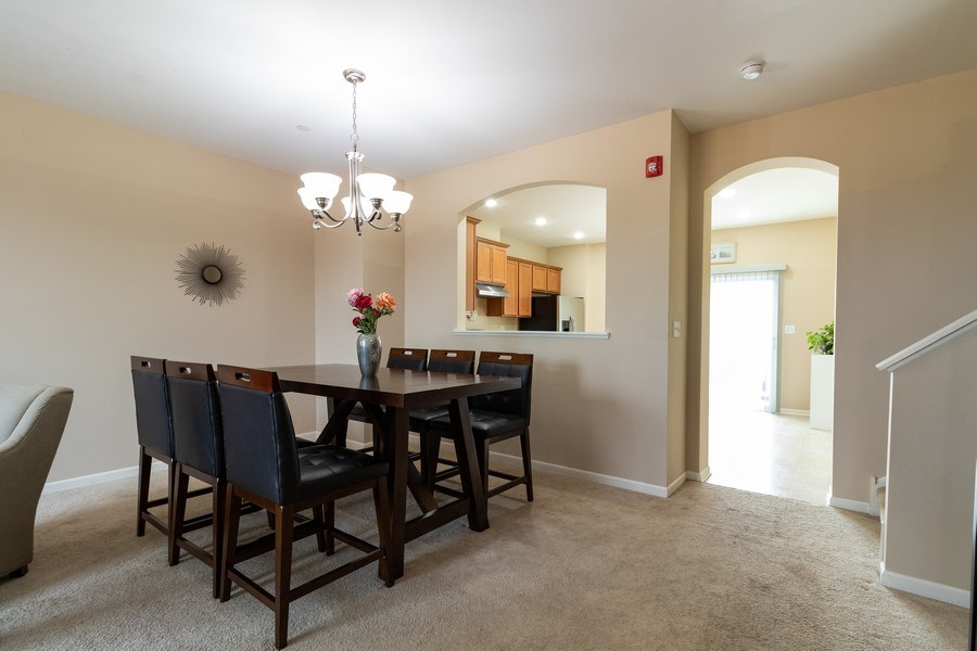 Real Estate Photography - 7500 SAVOY Lane, Unit A, Bridgeview, IL, 60455 - Dining Room
