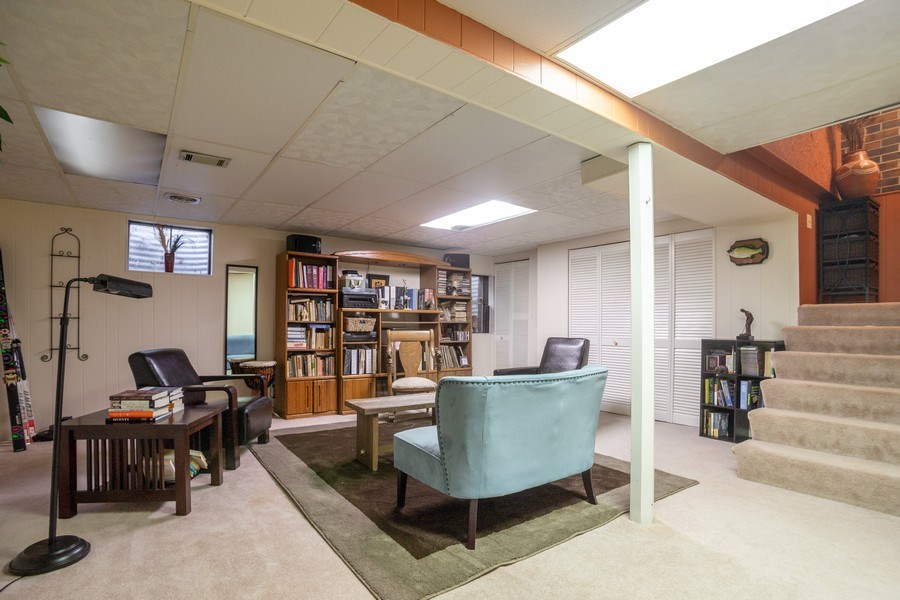 Real Estate Photography - 218 W. Wimbolton Drive, Mount Prospect, IL, 60056 - Lower Level Family Room