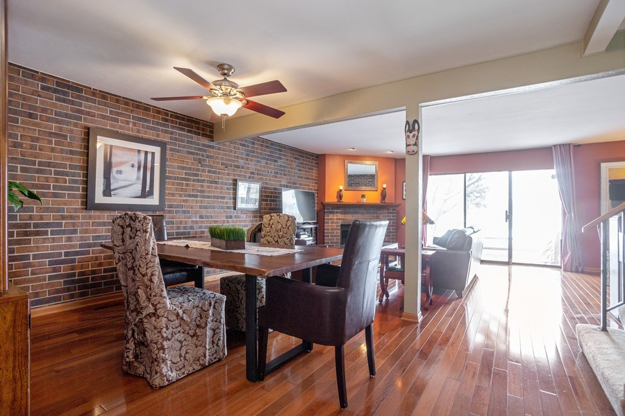 Real Estate Photography - 218 W. Wimbolton Drive, Mount Prospect, IL, 60056 - Living Room - Dining Room