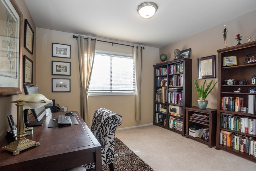Real Estate Photography - 218 W. Wimbolton Drive, Mount Prospect, IL, 60056 - Third Bedroom Office