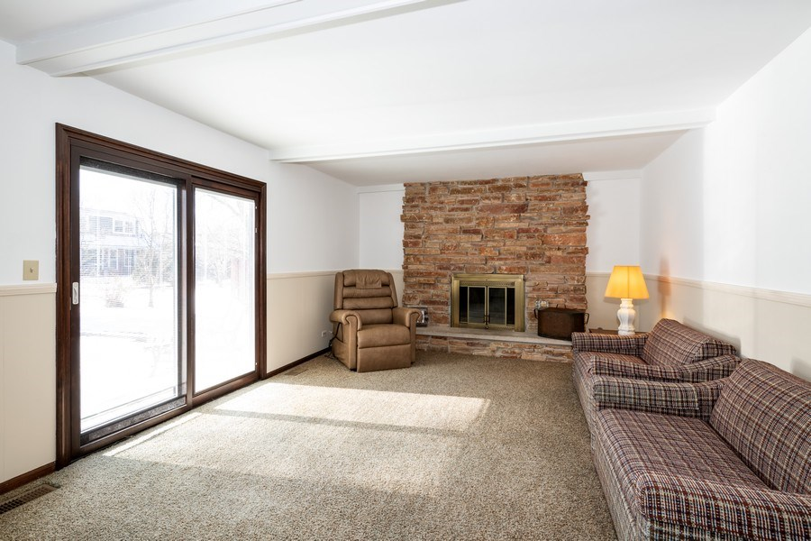 Real Estate Photography - 924 IROQUOIS Avenue, Naperville, IL, 60563 - Family Room