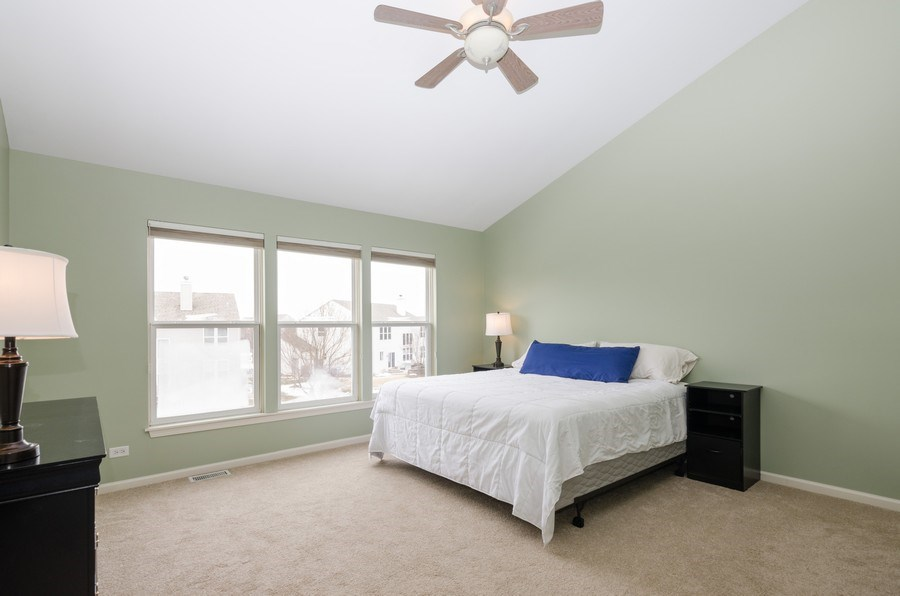 Real Estate Photography - 4700 WHITEHALL Court, Algonquin, IL, 60102 - Master Bedroom