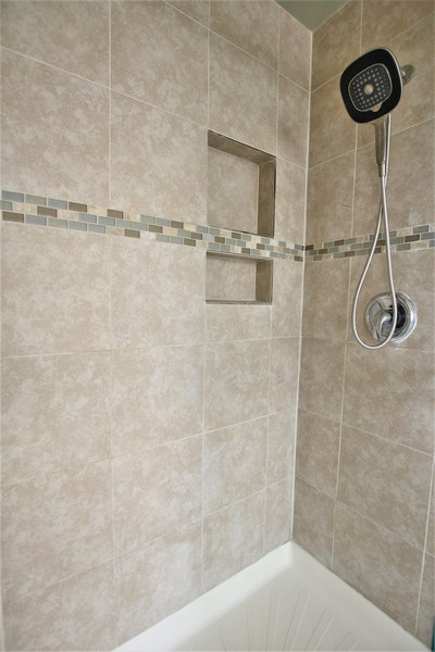 Real Estate Photography - 4700 WHITEHALL Court, Algonquin, IL, 60102 - Master Bath Walk-in Shower