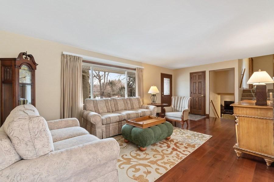 Real Estate Photography - 1N526 Goodrich Avenue, Glen Ellyn, IL, 60137 - Living Room
