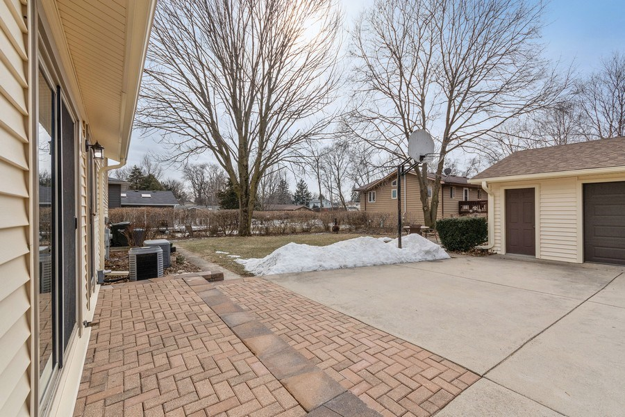 Real Estate Photography - 1N526 Goodrich Avenue, Glen Ellyn, IL, 60137 - Back Yard