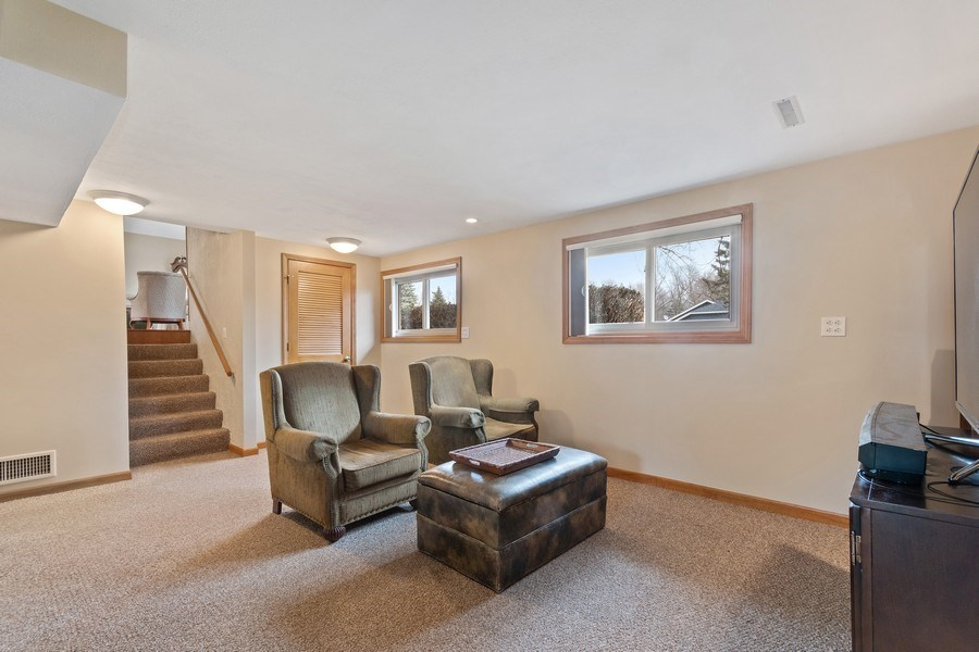 Real Estate Photography - 1N526 Goodrich Avenue, Glen Ellyn, IL, 60137 - Family Room