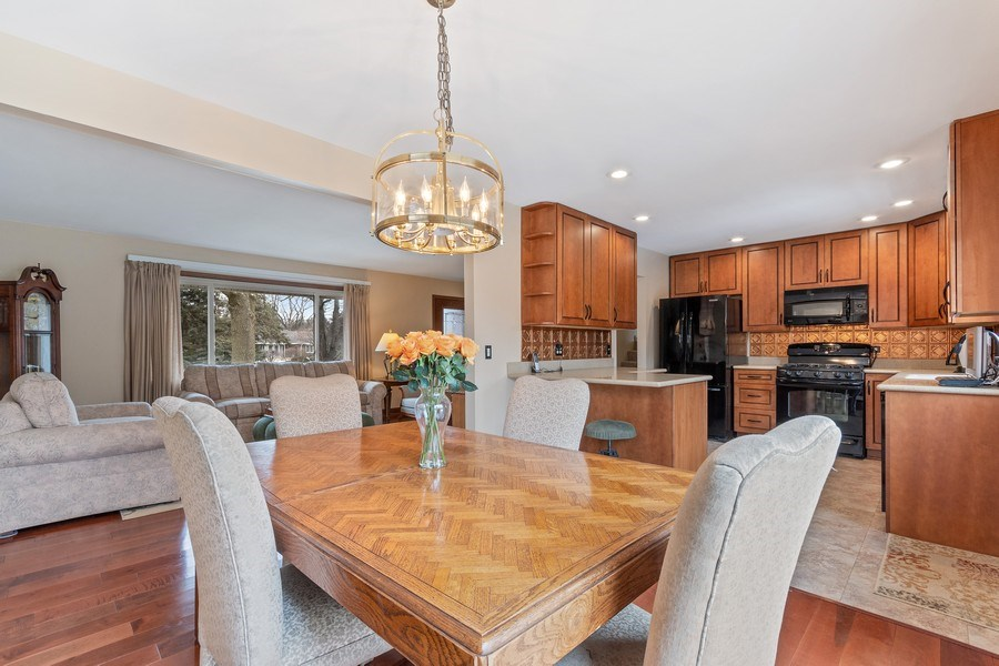 Real Estate Photography - 1N526 Goodrich Avenue, Glen Ellyn, IL, 60137 - Dining Room